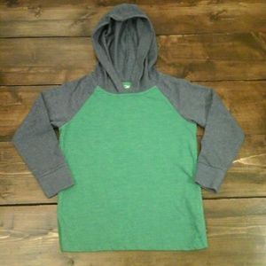 Boys Long Sleeve Hoodie (Hooded) Shirt Size 3T